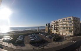 Studio Alcove vue mer 100m de la plage
