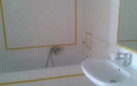 détail de la salle de bains du laurier