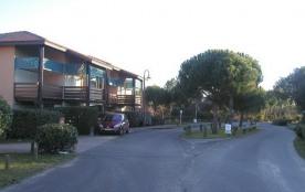 vue de la résidence sur la gauche