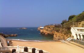 La plage, vue du salon