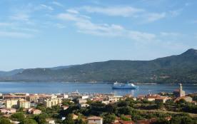 Vue panoramique mer depuis l'appartement