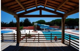 Camping Parc Bellevue - Mh Bambou 2Ch 4/6pers Clim + Terrasse