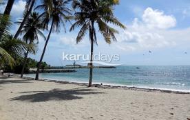 Appartement Duplex Papaye avec accès plage direct