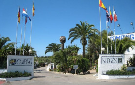 Camping Sitges, 166 emplacements, 54 locatifs