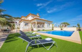 La villa avec vue mer en location sur la Costa B