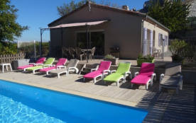 Gite/maison avec piscine à proximité des gorges de l'ardèche - Saint-Alban-Auriolles