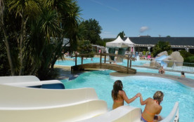 Camping le Rosnual - Chalet 3ch 6pers (+7ans) + Terrasse Couverte