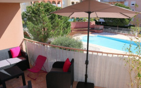 Appartement 3pièces 60m² avec piscine, terrasse, barbecue