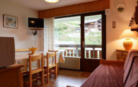 Appartement 2 pièces de 30 m² environ pour 4 personnes, la résidence est située à proximité du ce...