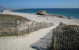 la plage et ses rochers