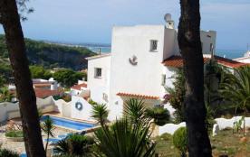 Belle maison individuelle, PALANTINA, avec magnifique vue sur mer et piscinne privée
