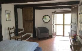 Première chambre du bas et sa terrasse