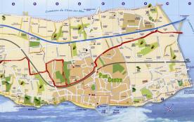 La plan de la station