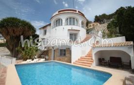 Villa à Benissa avec vue sur la mer, le P