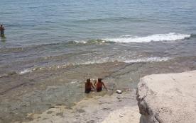bord de mer ; eau claire