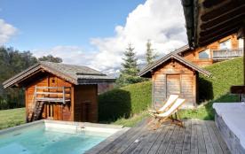 squarebreak, Chalet avec piscine et jacuzzi à Mégève