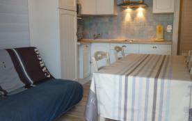 Capbreton (40) - Centre-ville - Appartement 2 pièces cabine - 37 m² environ - jusqu'à 4 personnes.