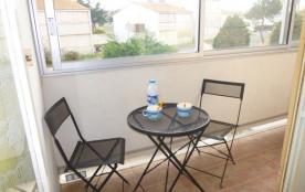 Rue des Rouches, appartement 2 pièces de 40 m² environ pour 4 personnes située à 200 m de la plag...