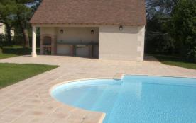 Gîtes de France - Ancienne maison de vigneron typique, sur grand terrain clos avec piscine (12 m ...