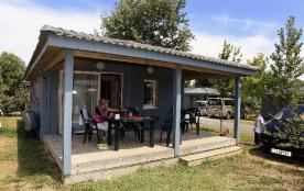 Camping Les Hameaux des Marines - Chalet 6 pers