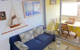 Appartement pour 2 personnes à Narbonne-Plage