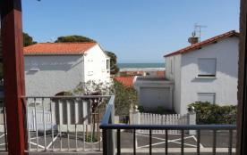 Saint Pierre la Mer (11) - Quartier du centre de la station - Résidence Eolia. Appartement 2 pièc...