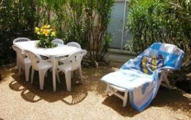 Gruissan (11) - Ayguades - Résidence Les Hameaux de la plage. Pavillon 2 pièces mezzanine 35 m² e...