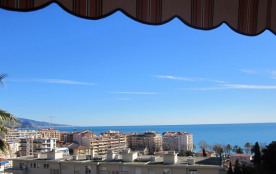 grand appartement Menton vue Mer et parking privé