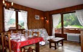 Le Grand Bornand 74 - Secteur village - Résidence Le Charvet. Appartement 3 pièces de 43 m² envir...