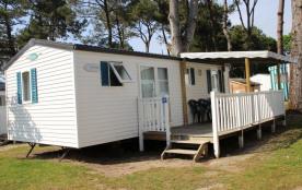 Le grand large 6 personnes (3 chambres) - Le camping 3 étoiles le Domaine de Pont-Mahé vous propose pour vos vacances...