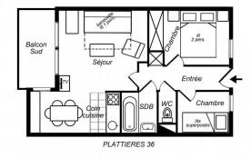Appartement 3 pièces cabine 5 personnes (36)