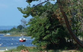 Camping Le Lou Broustaricq - Mh 2ch 4/6pers (-7ans) + Terrasse Semi-Couverte