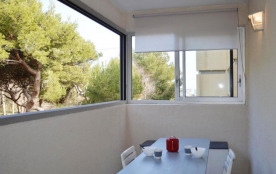 Narbonne Plage (11) - Quartier des Karantes - Résidence les Pins. Appartement 2 pièces - 28 m² en...