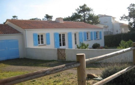 FR-1-231-113 - 400m mer - Belle maison vendéenne récente de type 4 avec beau jardin clos / 6 pers...