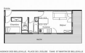 Appartement 2 pièces 4 personnes (B1)