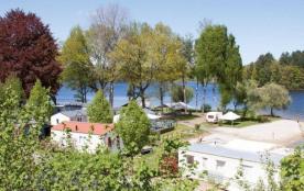 Flower Camping Le Port de Neuvic, 69 emplacements, 3 locatifs