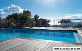 Gîtes 2 personnes 50 m² vue mer et vue piscine.