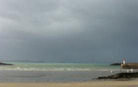 tempête sur le port (tons bretons)