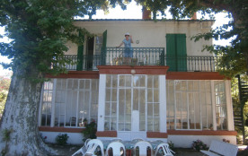 Vue de la maison terrasse