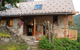 Bienvenue! Chalet calme et convivial Alt: 1400 m.   Haut-Verdon / Val d'Allos / Parc National du Mercantour.