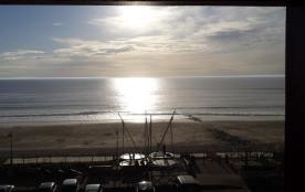 Terrasse face à l'océan en 1ère ligne