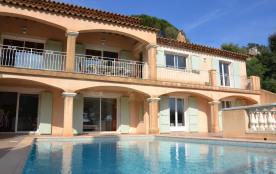 Location Villa Cavalaire-sur-mer de 4 a 8 personnes.