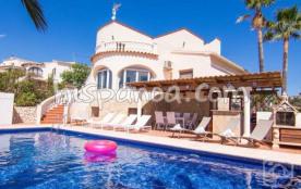 Cette location de vacances en Espagne se compose