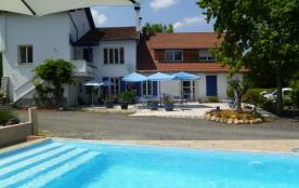 Maison d'hôtes, piscine juillet aout, terrasse