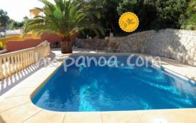 A louer villa avec piscine sur la Costa Blanca o