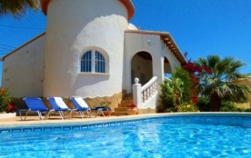Location villa avec piscine à Calpe &agra