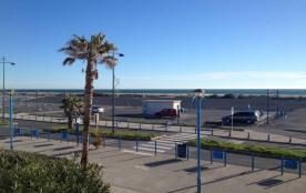 20 m du centre et de la plage, appartement T2 + mezzanine.