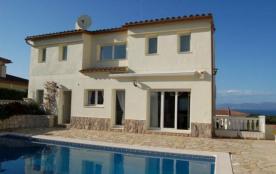 Villa MAURI avec vues espectaculaires à la Méditerranée pour 10 pers. et piscine privée
