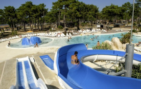 Camping Atlantic Club Montalivet 5* - Mobil-home Confort - 3 chambres -  6 personnes