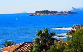 vue sur Ile de Bendor depuis la terrasse